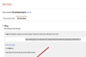 Google sitemap verification html code