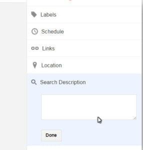 Search-Description