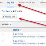 AdSense ad units