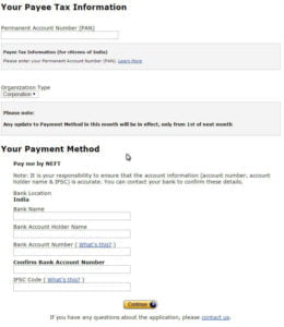 amazon money Tax information