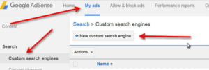 custom search engines