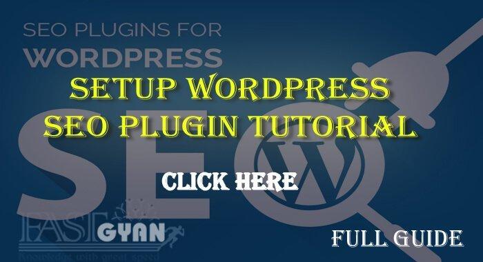 Setup WordPress SEO Plugin Tutorial Hindi