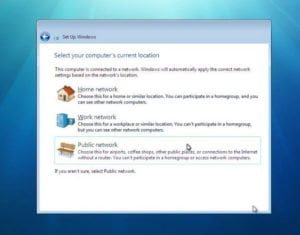 windows 7 home network