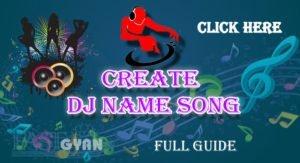 Create DJ Name Song