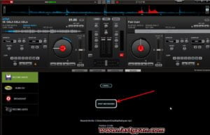 dj song with name stop recording