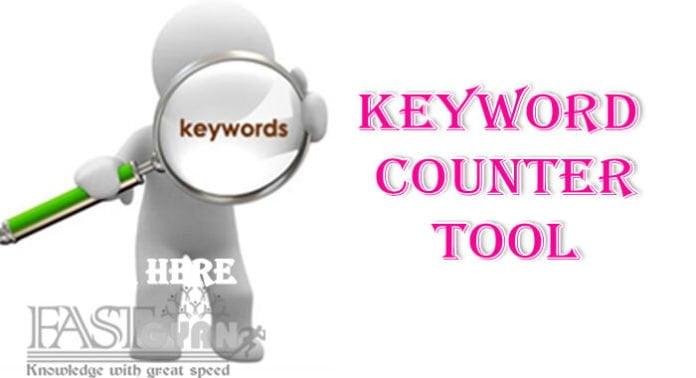 Keyword Counter tool
