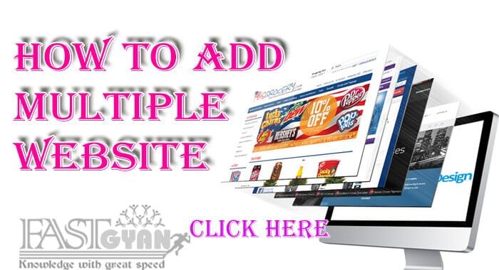 Adsense Par Multiple Website Jodne ki Jankari