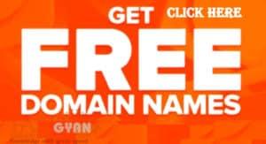 Free Domain Name Kharidne ki Jankari