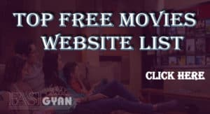 Top Free Movies Website List ki jankari