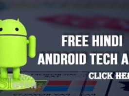 Free Hindi Android Tech Apps ki Jankari
