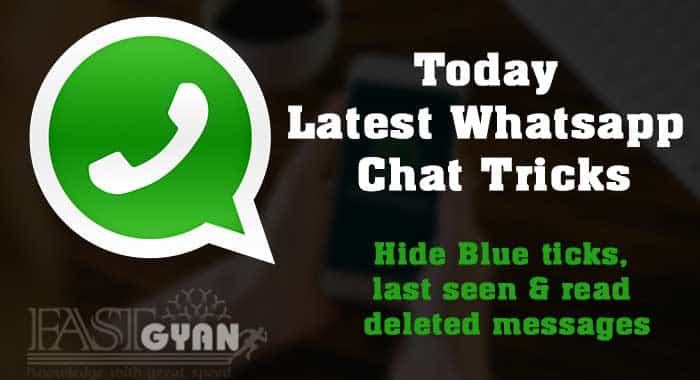 Today Latest Whatsapp Chat Tricks in Hindi