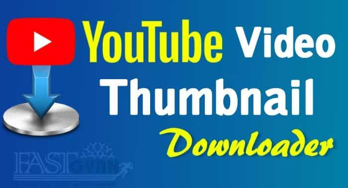 YouTube Video Thumbnail Download ki Jankari