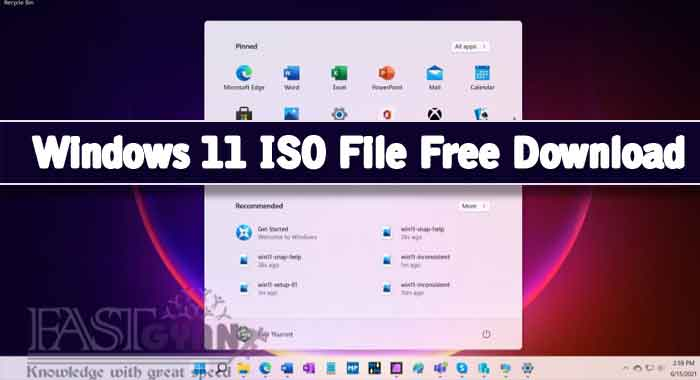 Latest Windows 11 ISO File Free Download