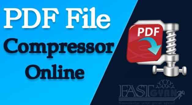 PDF Compressor Online Website ki Jankari