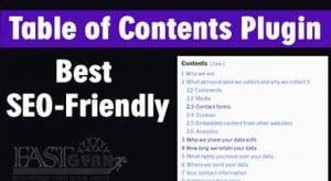 Best WordPress Table of Contents Plugin ki Jankari