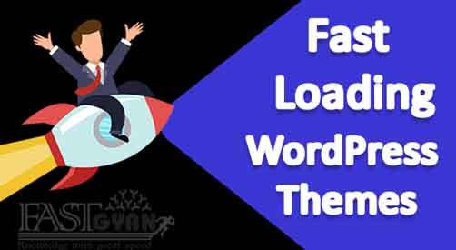 Fast Loading WordPress Themes ki Jankari